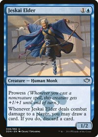 Jeskai Elder, Magic: The Gathering, Duel Decks: Speed vs. Cunning