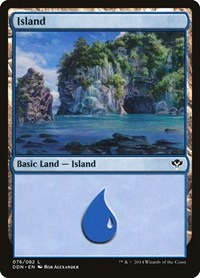 Island (76), Magic: The Gathering, Duel Decks: Speed vs. Cunning