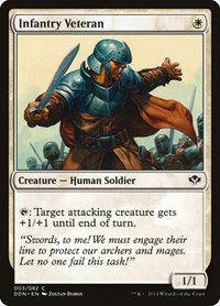 Infantry Veteran, Magic: The Gathering, Duel Decks: Speed vs. Cunning