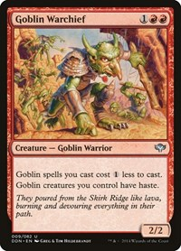 Goblin Warchief, Magic: The Gathering, Duel Decks: Speed vs. Cunning