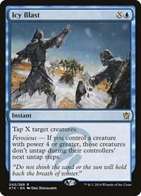 Icy Blast, Magic: The Gathering, Khans of Tarkir