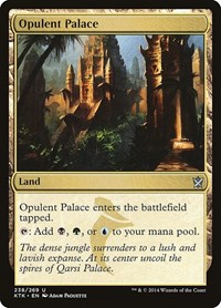 Opulent Palace, Magic: The Gathering, Khans of Tarkir