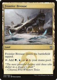 Frontier Bivouac, Magic: The Gathering, Khans of Tarkir
