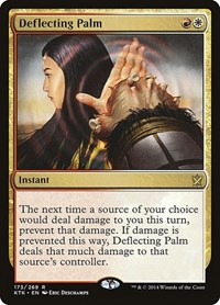 Deflecting Palm, Magic: The Gathering, Khans of Tarkir
