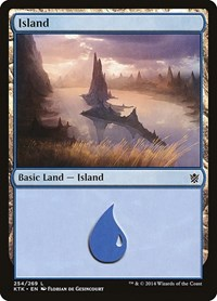 Island (254), Magic: The Gathering, Khans of Tarkir