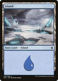 Island (256), Magic: The Gathering, Khans of Tarkir