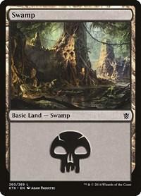 Swamp (260), Magic: The Gathering, Khans of Tarkir