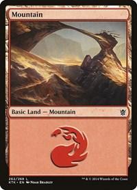 Mountain (262), Magic: The Gathering, Khans of Tarkir