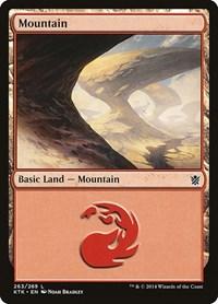Mountain (263), Magic: The Gathering, Khans of Tarkir