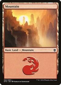 Mountain (264), Magic: The Gathering, Khans of Tarkir