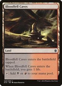 Bloodfell Caves, Magic: The Gathering, Khans of Tarkir
