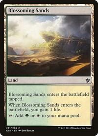 Blossoming Sands, Magic: The Gathering, Khans of Tarkir