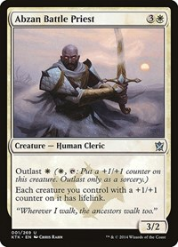 Abzan Battle Priest, Magic: The Gathering, Khans of Tarkir