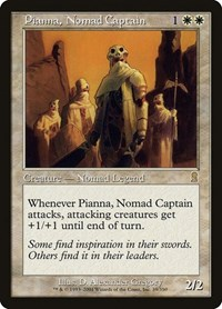 Pianna, Nomad Captain, Magic: The Gathering, Odyssey