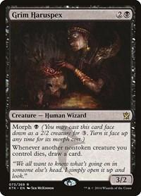 Grim Haruspex, Magic: The Gathering, Khans of Tarkir