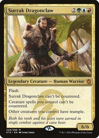 Surrak Dragonclaw, Magic: The Gathering, Khans of Tarkir