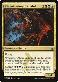 Abomination of Gudul, Magic: The Gathering, Khans of Tarkir