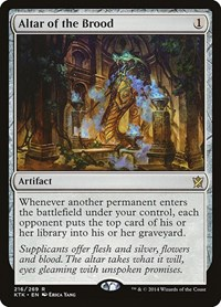 Altar of the Brood, Magic: The Gathering, Khans of Tarkir