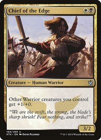 Chief of the Edge, Magic: The Gathering, Khans of Tarkir