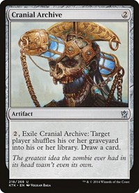Cranial Archive, Magic: The Gathering, Khans of Tarkir