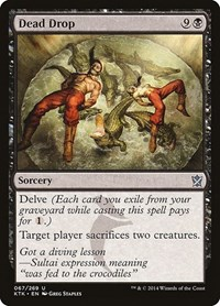 Dead Drop, Magic: The Gathering, Khans of Tarkir
