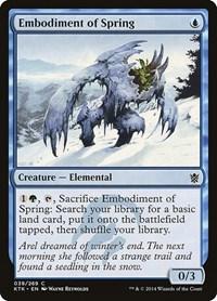 Embodiment of Spring, Magic: The Gathering, Khans of Tarkir