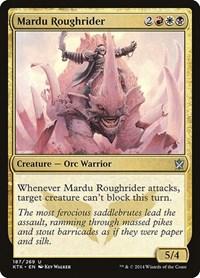 Mardu Roughrider, Magic: The Gathering, Khans of Tarkir