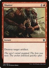 Shatter, Magic: The Gathering, Khans of Tarkir