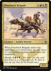 Ponyback Brigade, Magic, Khans of Tarkir