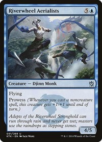 Riverwheel Aerialists, Magic: The Gathering, Khans of Tarkir