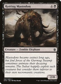 Rotting Mastodon, Magic, Khans of Tarkir