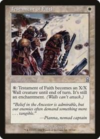 Testament of Faith, Magic: The Gathering, Odyssey