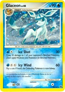 Glaceon (DP Majestic Dawn), Pokemon, Deck Exclusives