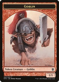 Goblin Token, Magic: The Gathering, Khans of Tarkir