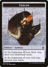 Emblem - Sarkhan, the Dragonspeaker, Magic: The Gathering, Khans of Tarkir