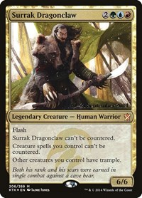 Surrak Dragonclaw, Magic: The Gathering, Prerelease Cards