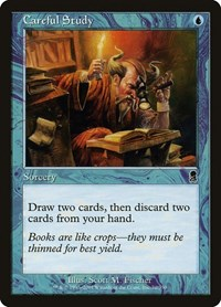 Careful Study, Magic: The Gathering, Odyssey