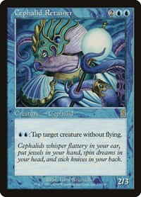Cephalid Retainer, Magic: The Gathering, Odyssey