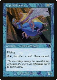 Cephalid Scout, Magic: The Gathering, Odyssey