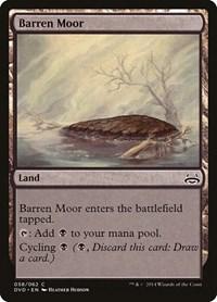 Barren Moor, Magic: The Gathering, Duel Decks: Anthology
