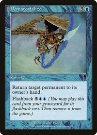 Dematerialize, Magic: The Gathering, Odyssey