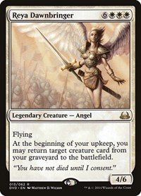 Reya Dawnbringer, Magic: The Gathering, Duel Decks: Anthology