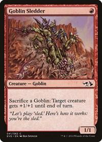 Goblin Sledder, Magic, Duel Decks: Anthology