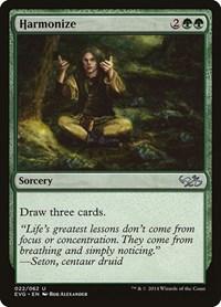 Harmonize (Goblins vs Elves), Magic: The Gathering, Duel Decks: Anthology