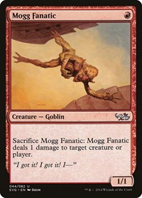 Mogg Fanatic, Magic: The Gathering, Duel Decks: Anthology