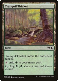 Tranquil Thicket, Magic: The Gathering, Duel Decks: Anthology