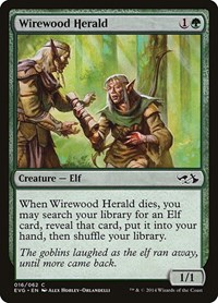 Wirewood Herald, Magic, Duel Decks: Anthology