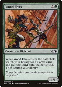 Wood Elves, Magic: The Gathering, Duel Decks: Anthology