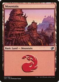 Mountain (62) (Jace vs Chandra), Magic: The Gathering, Duel Decks: Anthology