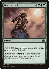 Beast Attack, Magic: The Gathering, Duel Decks: Anthology